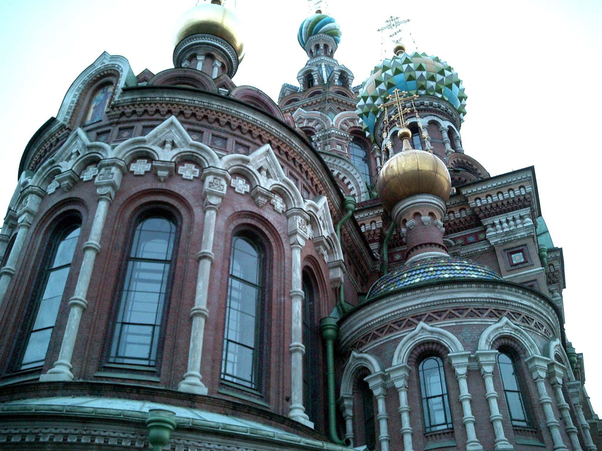 St Petersburg Architecture Church of the Savior on Blood 2005 13