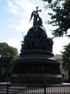 Asisbiz Veliky Novgorod Bronze monument to the Millennium of Russia 1862 01