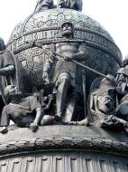 Asisbiz Veliky Novgorod Bronze monument to the Millennium of Russia 1862 07