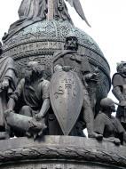 Asisbiz Veliky Novgorod Bronze monument to the Millennium of Russia 1862 09