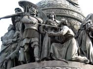 Asisbiz Veliky Novgorod Bronze monument to the Millennium of Russia 1862 10