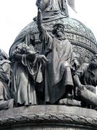 Asisbiz Veliky Novgorod Bronze monument to the Millennium of Russia 1862 11