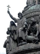 Asisbiz Veliky Novgorod Bronze monument to the Millennium of Russia 1862 12