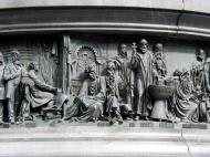 Asisbiz Veliky Novgorod Bronze monument to the Millennium of Russia 1862 15