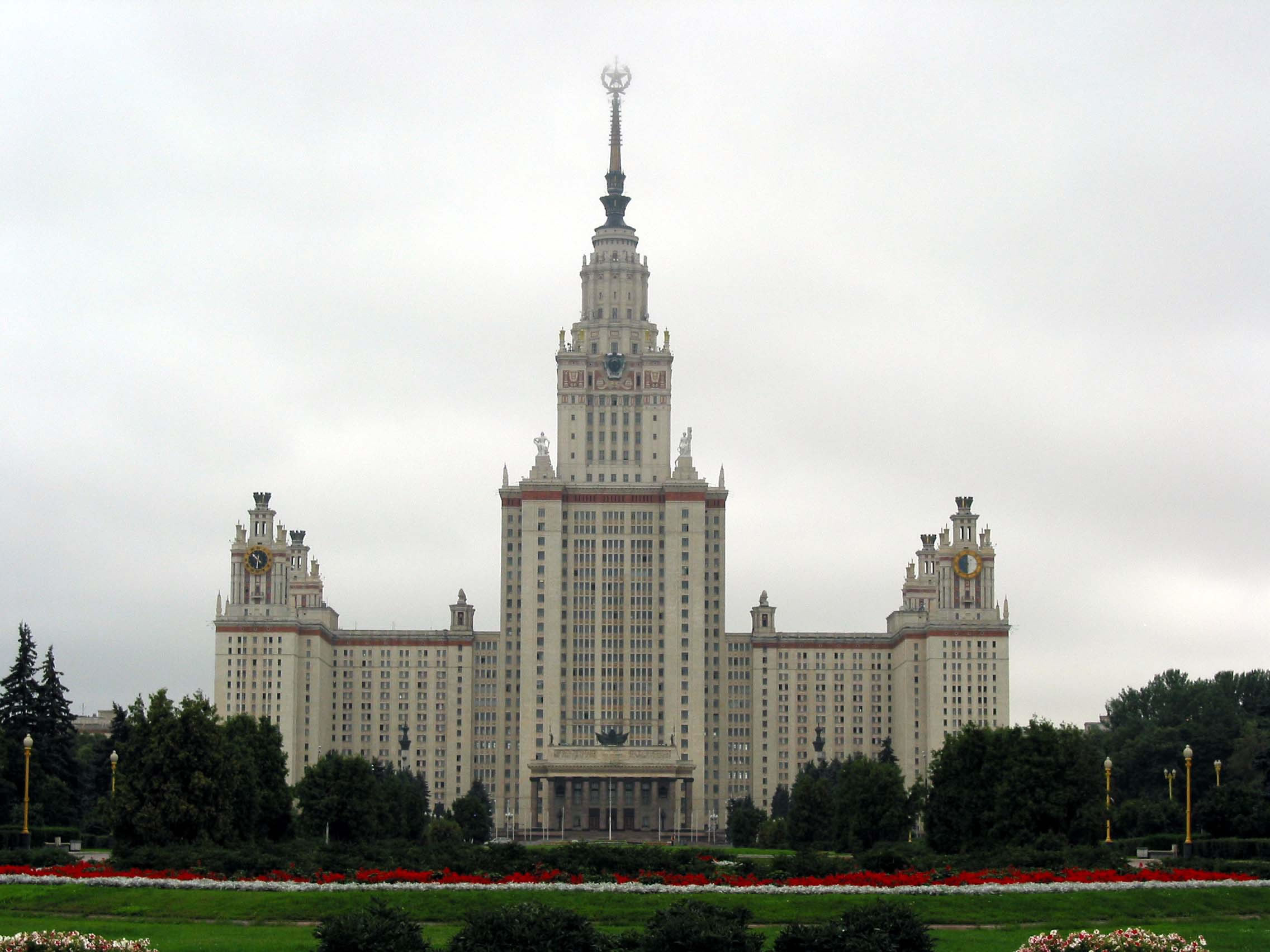 Architecture Moscow State University Sparrow Hills 02