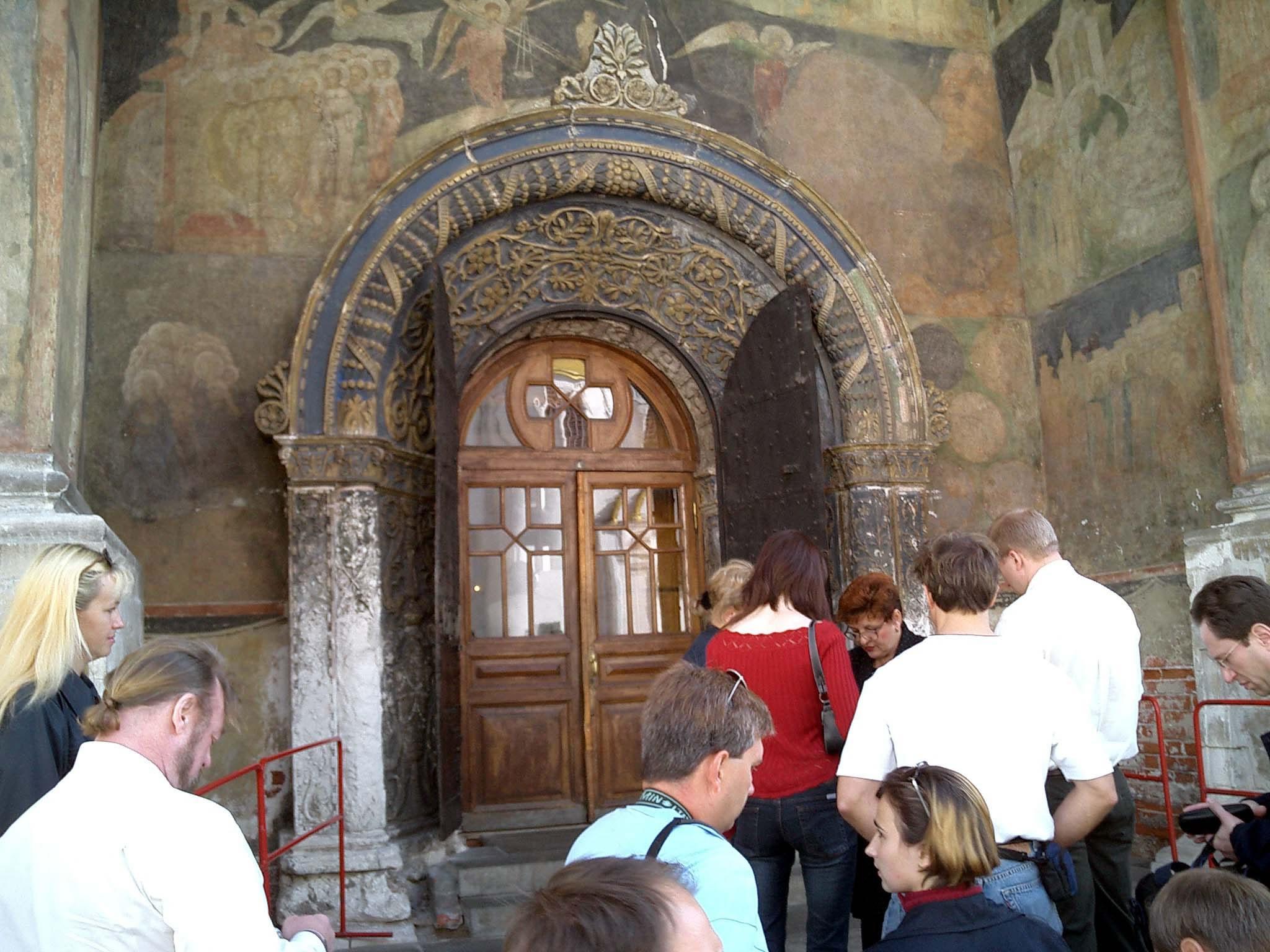 Moscow Kremlin Patriarchs Palace Church of 12 Apostles 2005 03