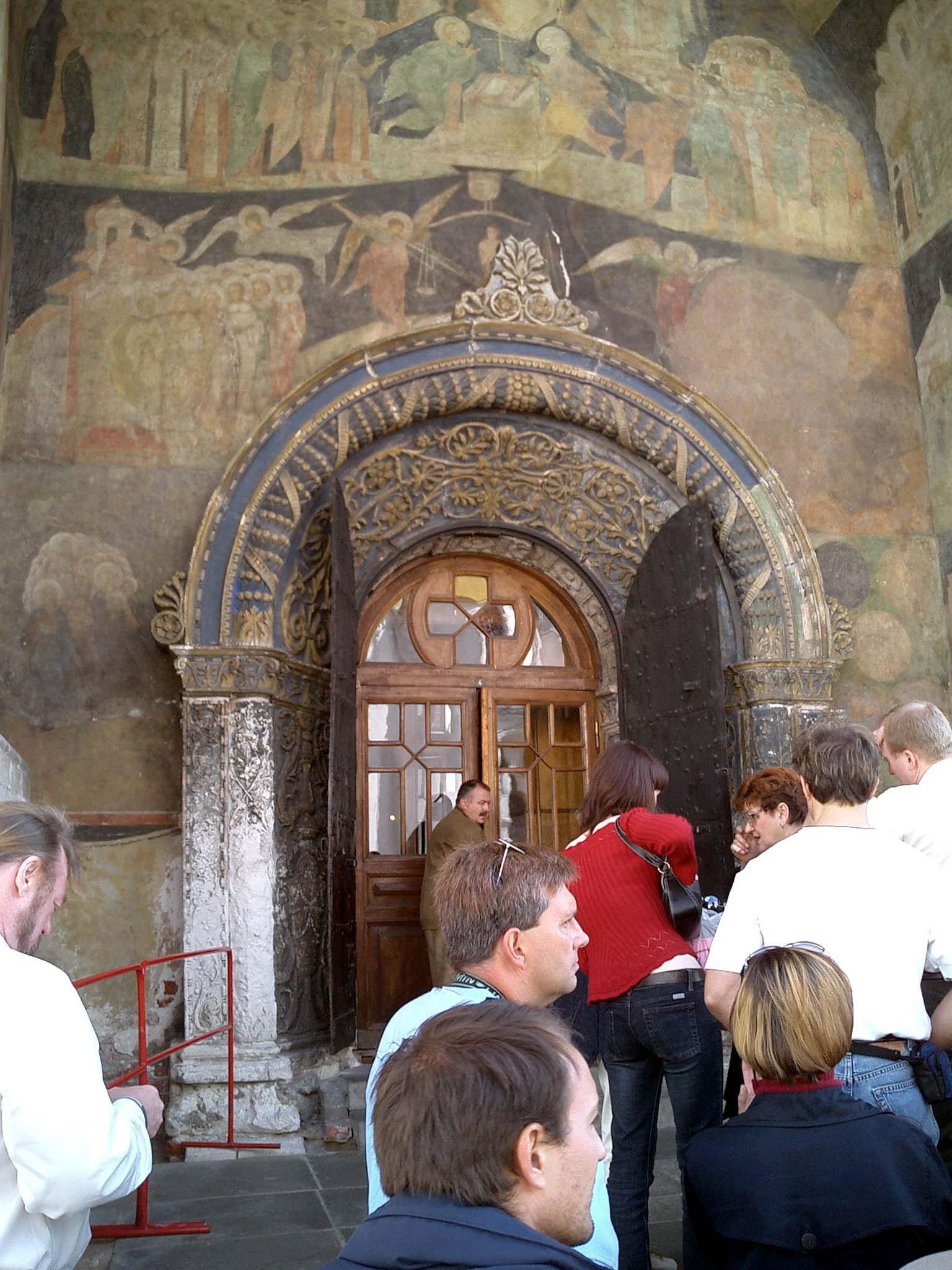 Moscow Kremlin Patriarchs Palace Church of 12 Apostles 2005 04