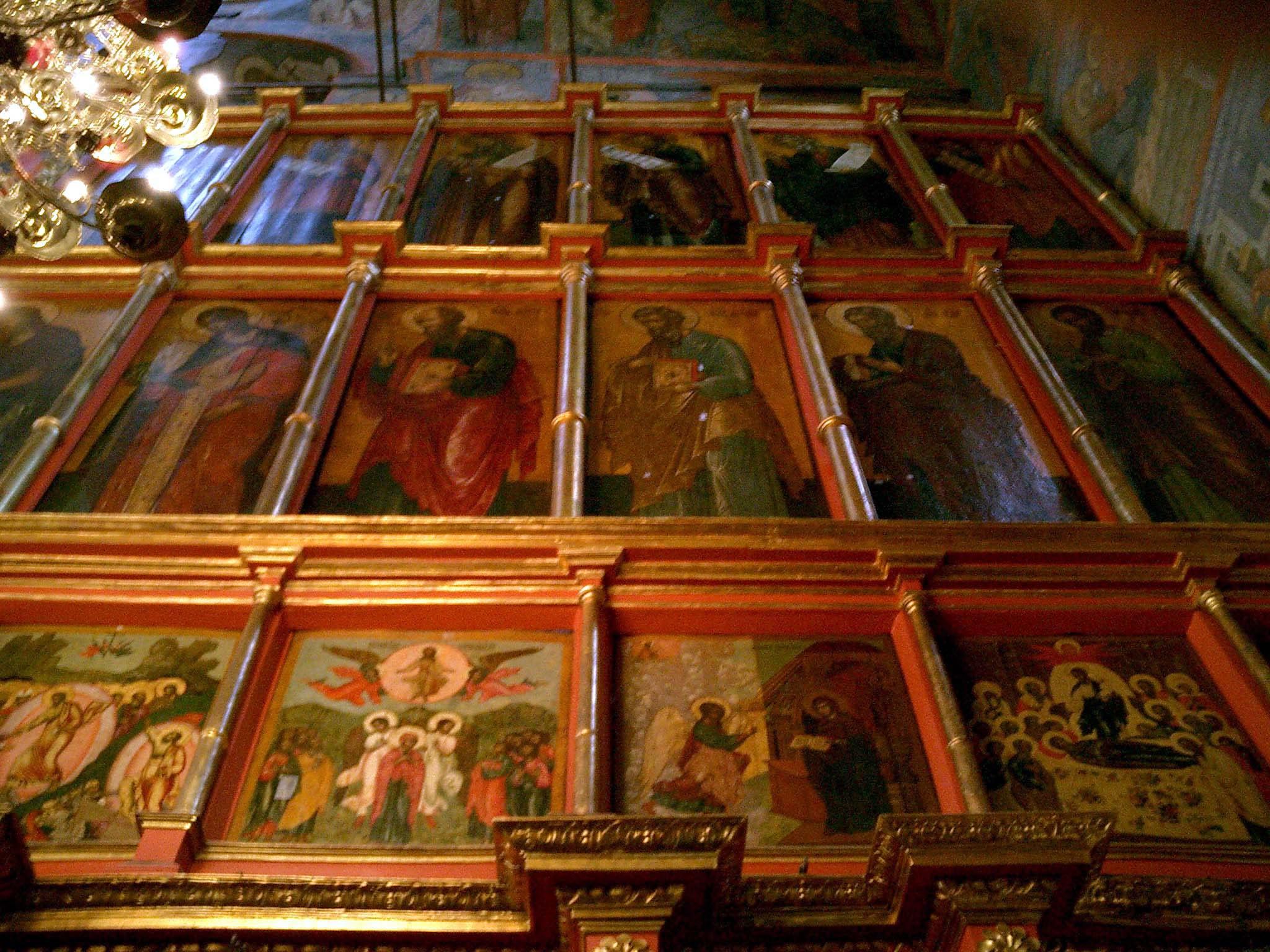 Moscow Kremlin Patriarchs Palace Church of 12 Apostles 2005 08