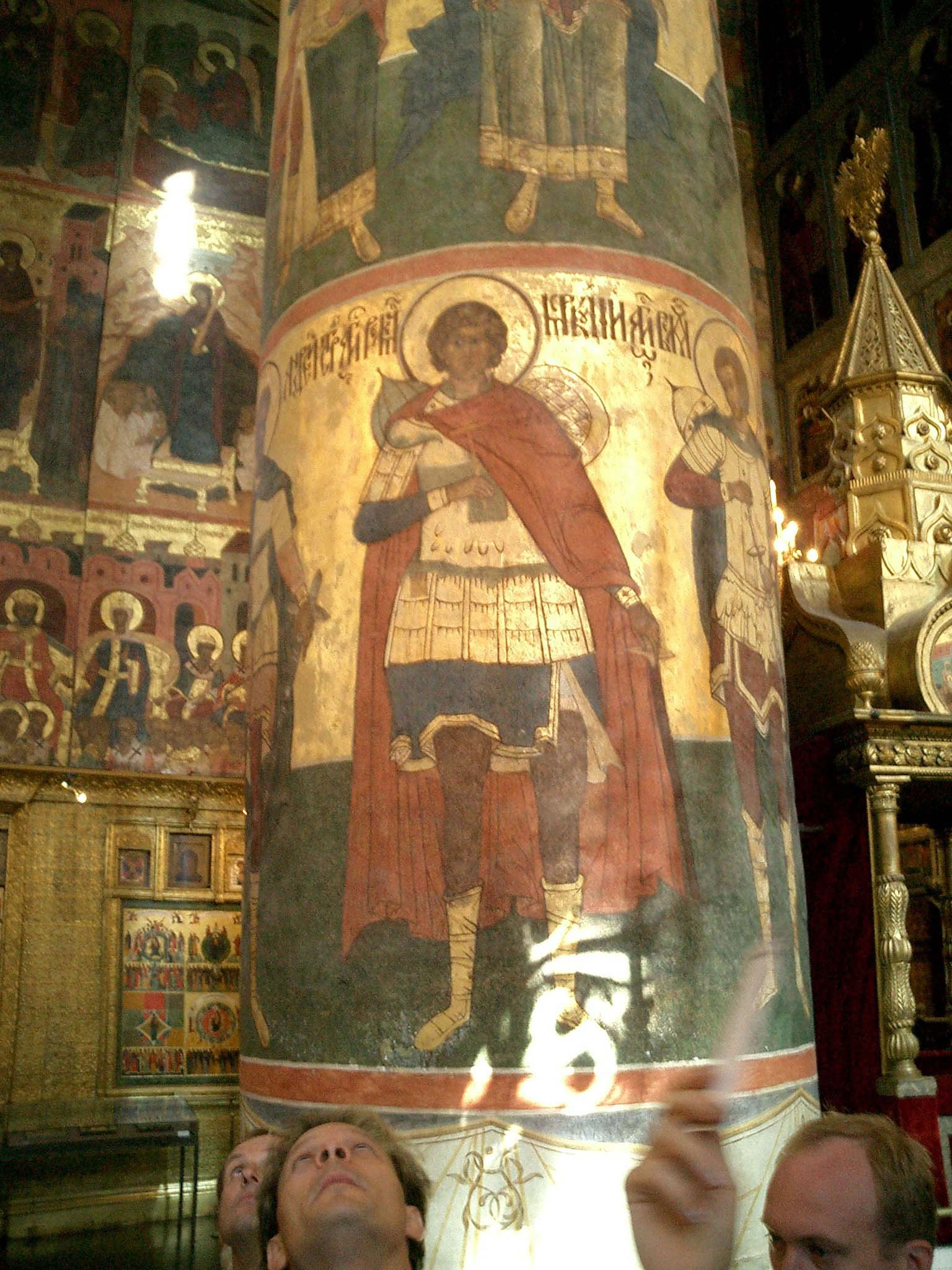 Moscow Kremlin Patriarchs Palace Church of 12 Apostles 2005 14