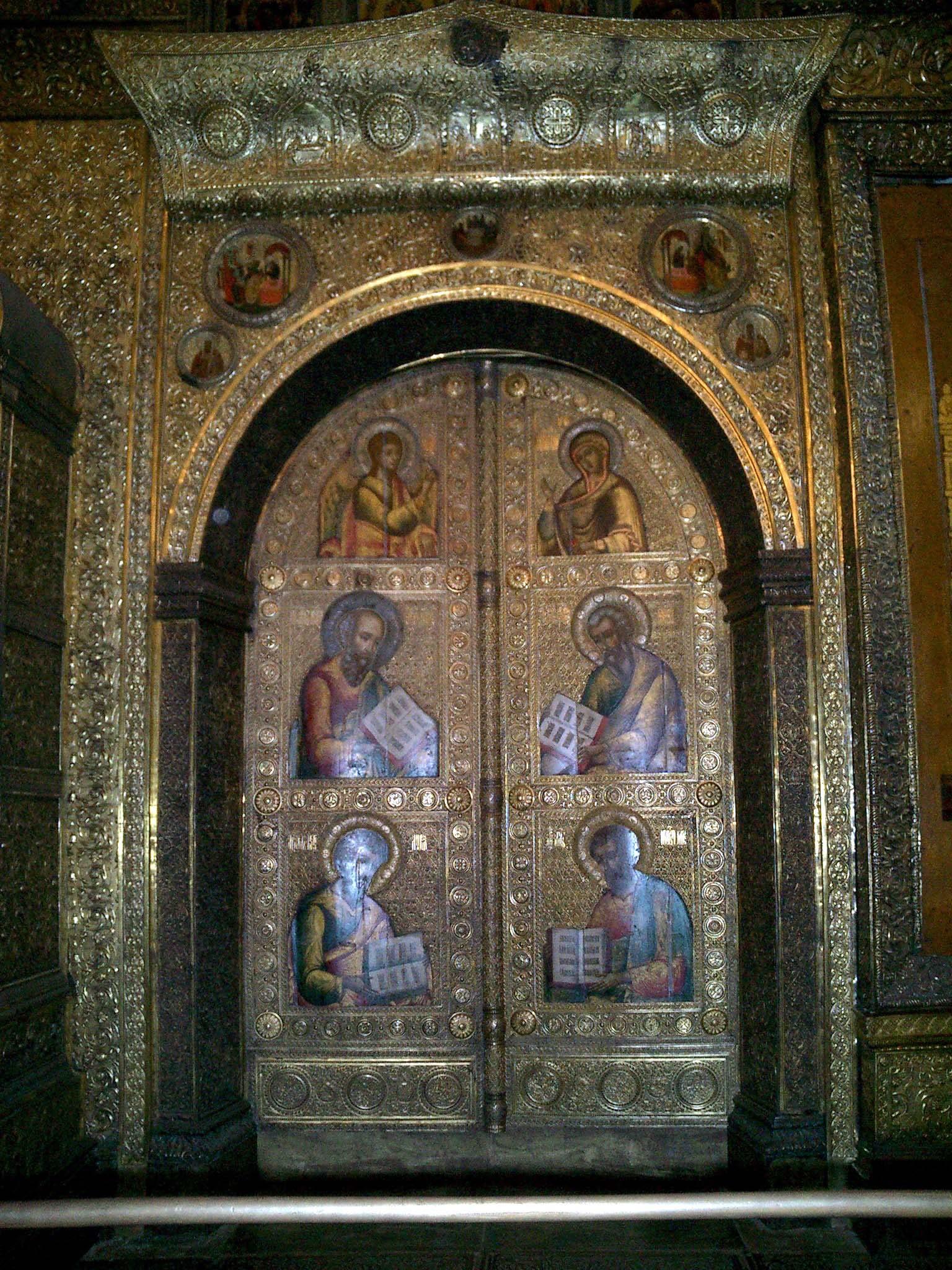 Moscow Kremlin Patriarchs Palace Church of 12 Apostles 2005 15