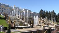 Asisbiz Peterhof Architecture Grand Cascade Fountain 01