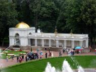 Asisbiz Peterhof Architecture Grand Cascade gardens annex buildings 02