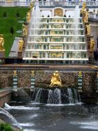 Asisbiz Peterhof Architecture Samson and Lion Fountain 2005 05