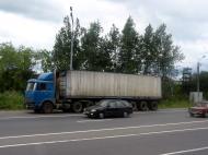 Asisbiz Russia Saint Petersburg Transport Vehicles trucks 2005 02