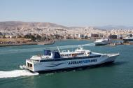 Asisbiz MS Speedrunner III IMO 9141871 Aegean Speed Lines entering Piraeus Port of Athens Greece 02