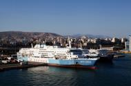 Asisbiz MS Anthi Marina IMO 7820473 and Dimitroula IMO 7602156 GA Ferries docked Piraeus Athens Greece 03