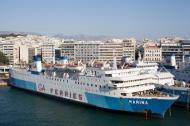 Asisbiz MS Marina IMO 7203487 GA Ferries docked Piraeus Port of Athens Greece 01