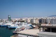 Asisbiz MS Marina Romilda Rodanthi Daliana GA Ferries and Yacht Sea Dream II docked Piraeus Port of Athens Greece 01