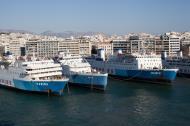 Asisbiz MS Rodanthi IMO 7353078 GA Ferries docked Piraeus Port of Athens Greece 01