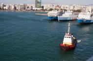 Asisbiz MS Romilda IMO 7368499 Marina Rodanthi GA Ferries docked Piraeus Port of Athens Greece 02