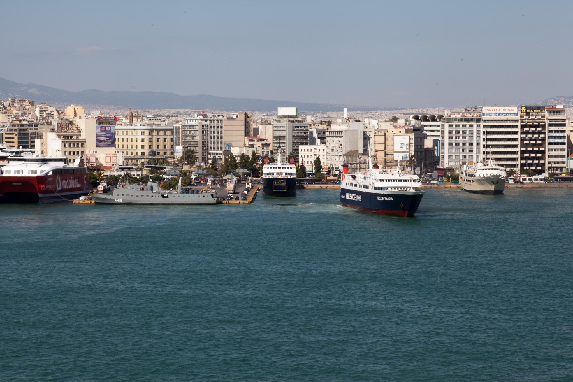 MS Apollon IMO 8807105 Heellas Hellenic Seaways Piraeus Port of Athens Greece 04