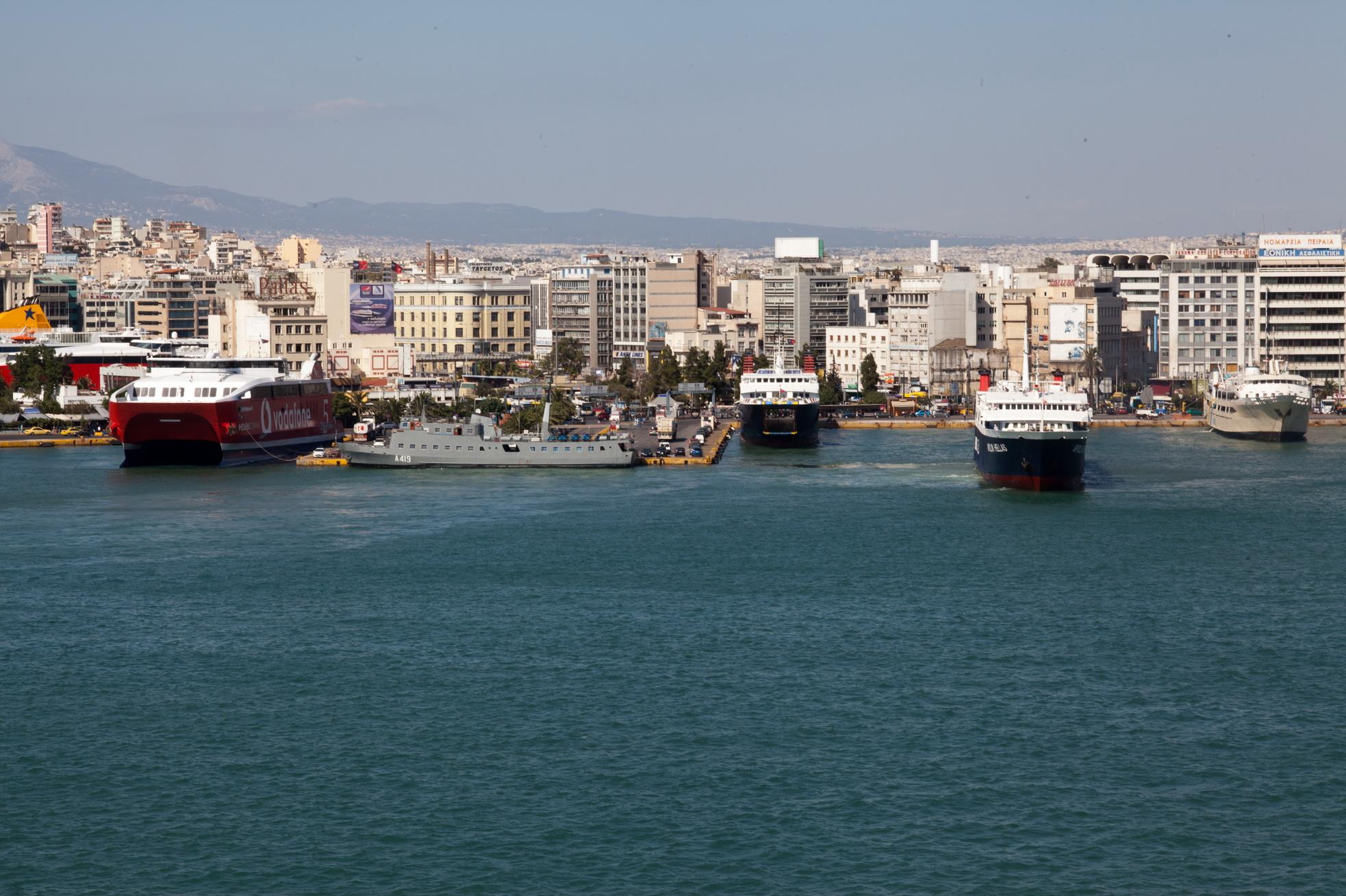MS Apollon IMO 8807105 Heellas Hellenic Seaways Piraeus Port of Athens Greece 05
