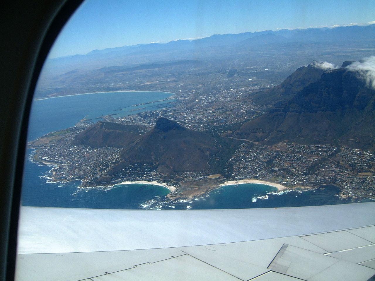 Aerial photos of Cape Town Feb 2001 04
