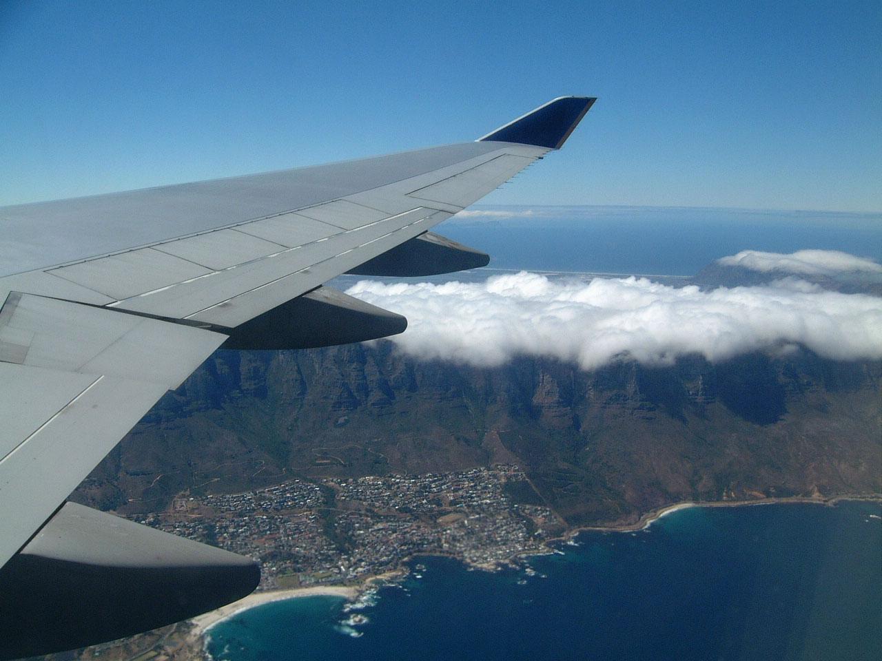 Aerial photos of Cape Town Feb 2001 06