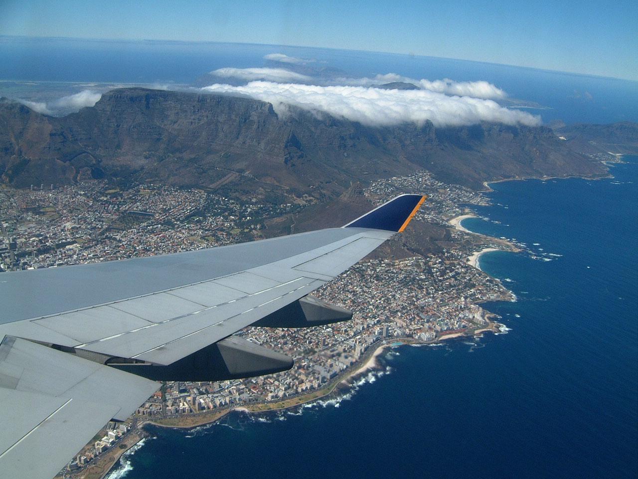 Aerial photos of Cape Town Feb 2001 10