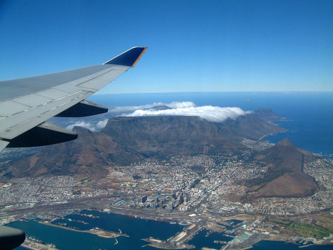 Aerial photos of Cape Town Feb 2001 14