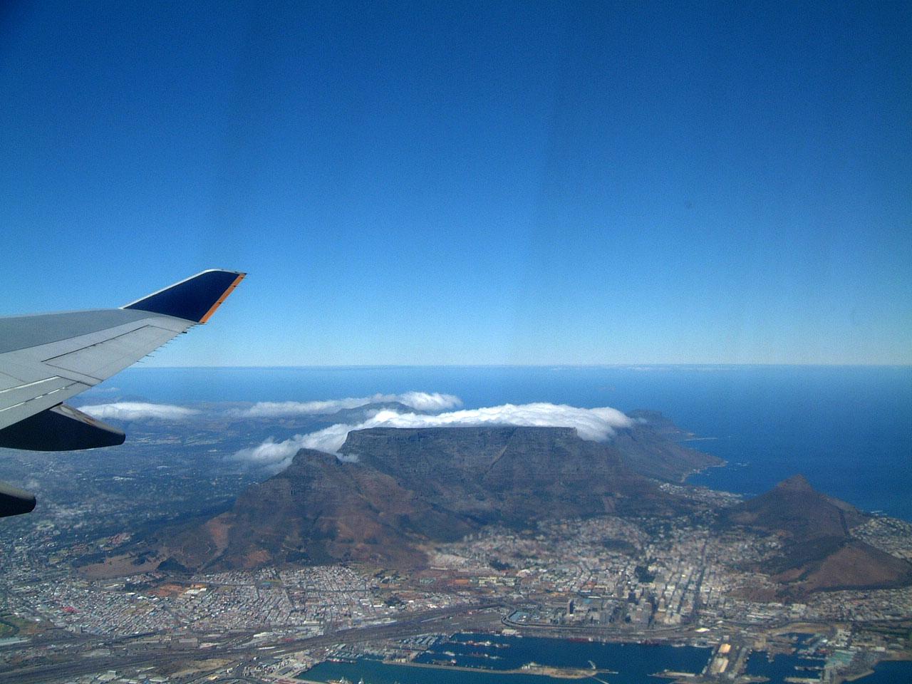 Aerial photos of Cape Town Feb 2001 15