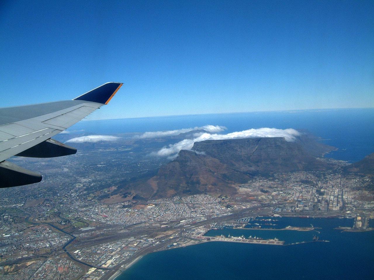 Aerial photos of Cape Town Feb 2001 16