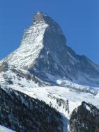 Asisbiz Switzerland Italy Matterhorn Matterhorn viewed from Zermatt 02