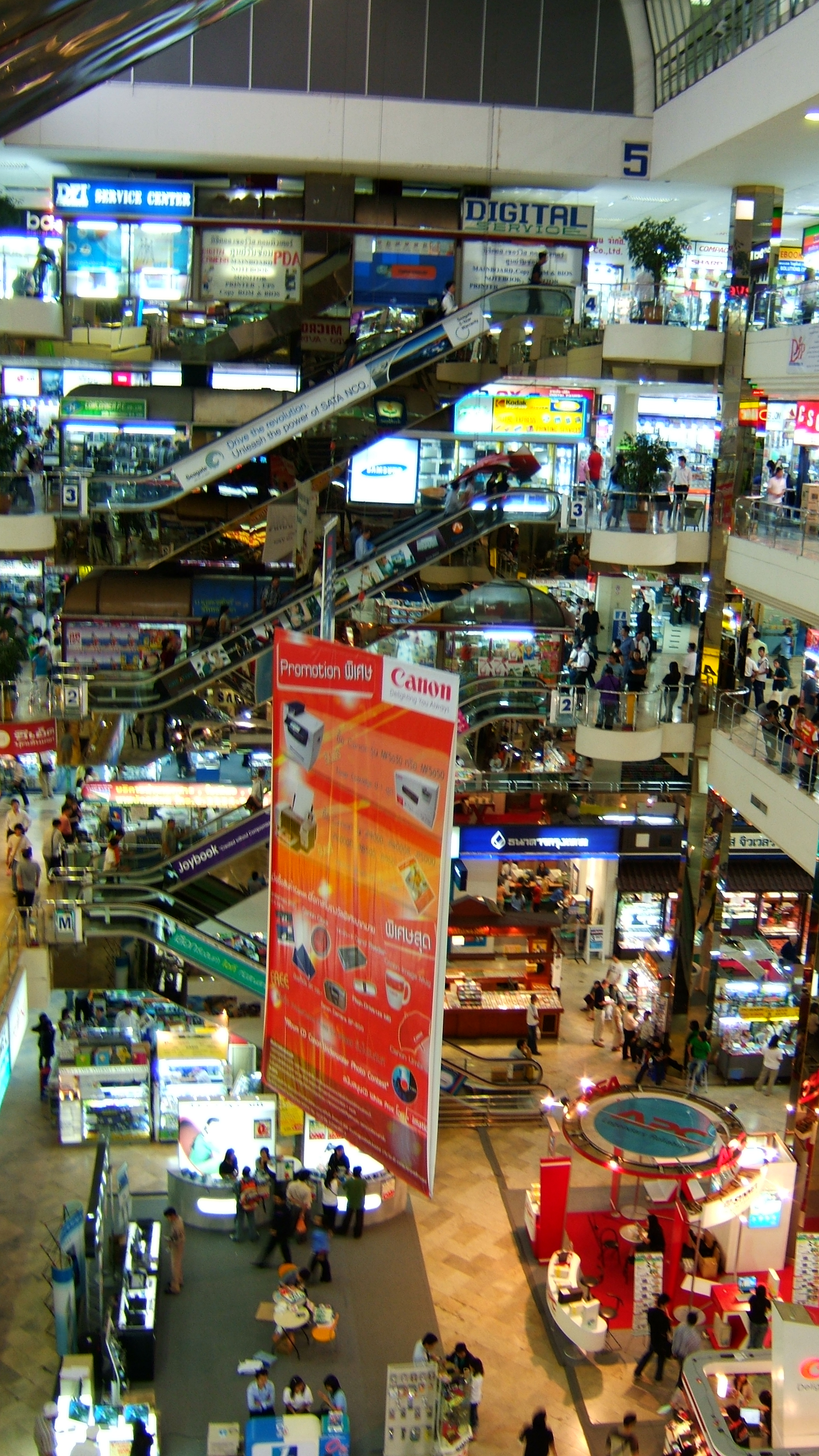 Bangkok Shops Thailand Oct 2005 01