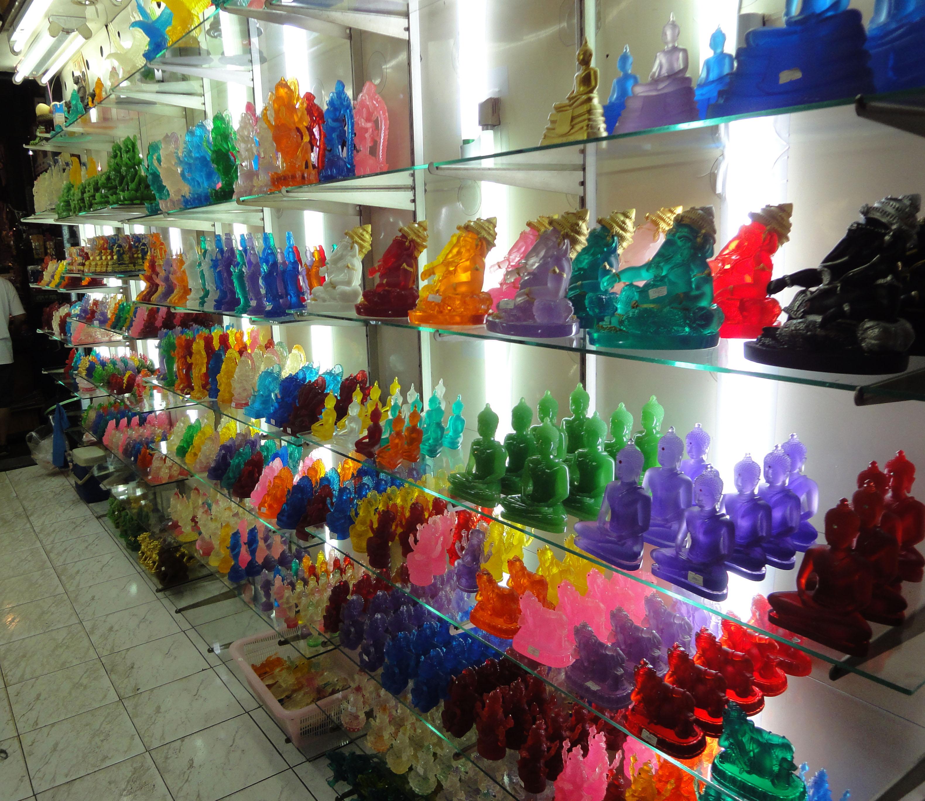 Chatuchak weekend market the Buddha trade 2010 08