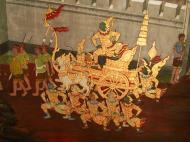 Asisbiz Grand Palace Gold leaf Buddhist artwork Bangkok Thailand 03