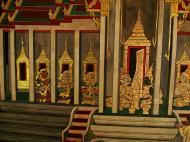 Asisbiz Grand Palace Gold leaf Buddhist artwork Bangkok Thailand 06