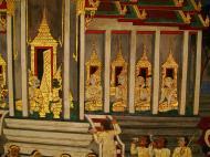 Asisbiz Grand Palace Gold leaf Buddhist artwork Bangkok Thailand 07
