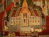 Asisbiz Grand Palace Gold leaf Buddhist artwork Bangkok Thailand 08