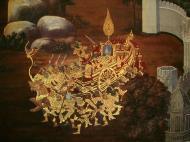 Asisbiz Grand Palace Gold leaf Buddhist artwork Bangkok Thailand 10