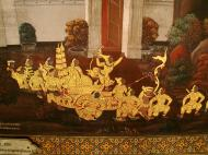 Asisbiz Grand Palace Gold leaf Buddhist artwork Bangkok Thailand 14
