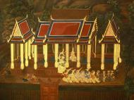 Asisbiz Grand Palace Gold leaf Buddhist artwork Bangkok Thailand 19