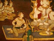 Asisbiz Grand Palace Gold leaf Buddhist artwork Bangkok Thailand 31