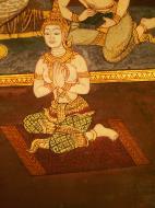 Asisbiz Grand Palace Gold leaf Buddhist artwork Bangkok Thailand 33