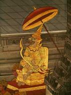 Asisbiz Grand Palace Gold leaf Buddhist artwork Bangkok Thailand 42
