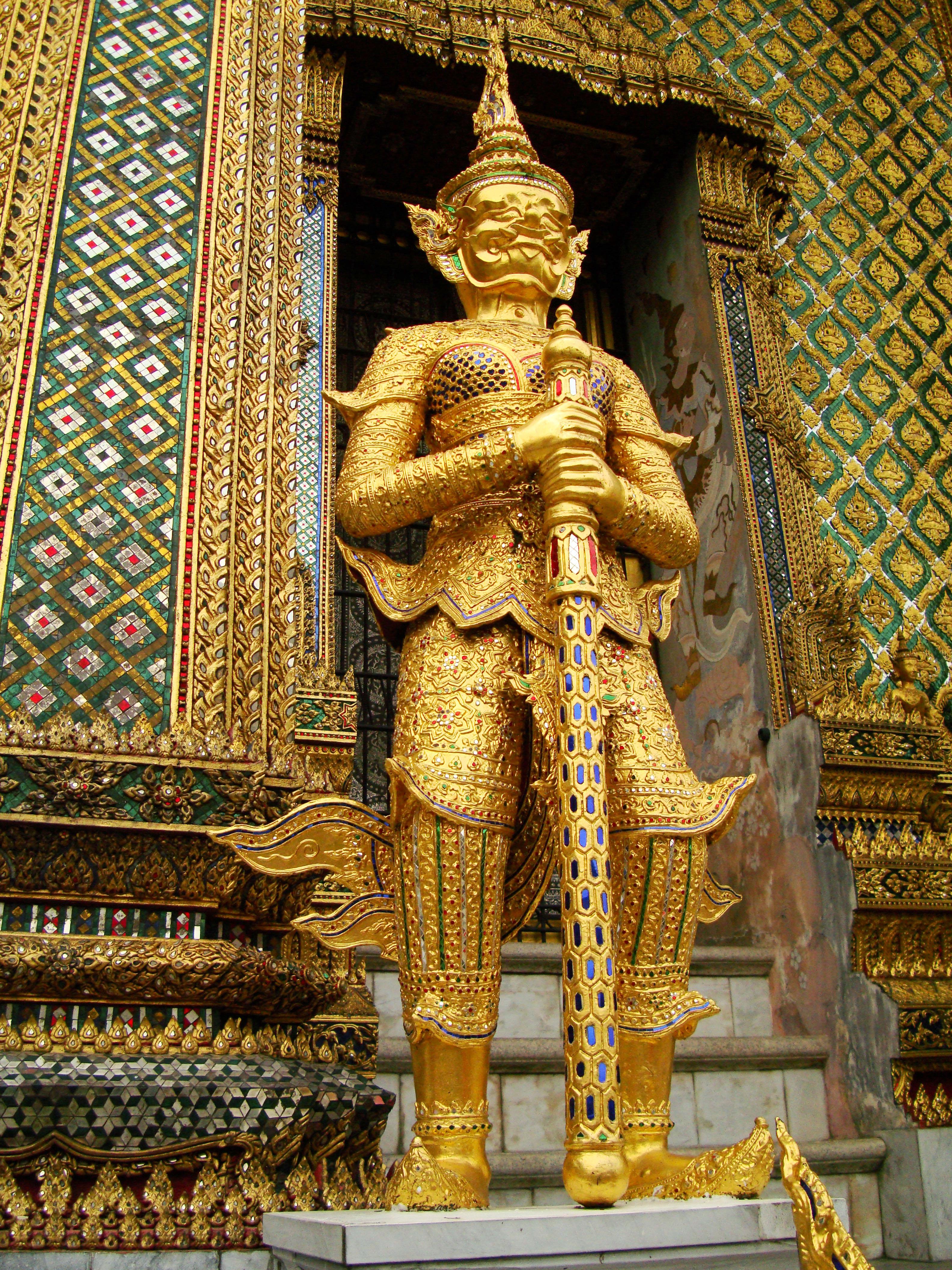 07 Area Grand Palace guardians Bangkok Thailand 06
