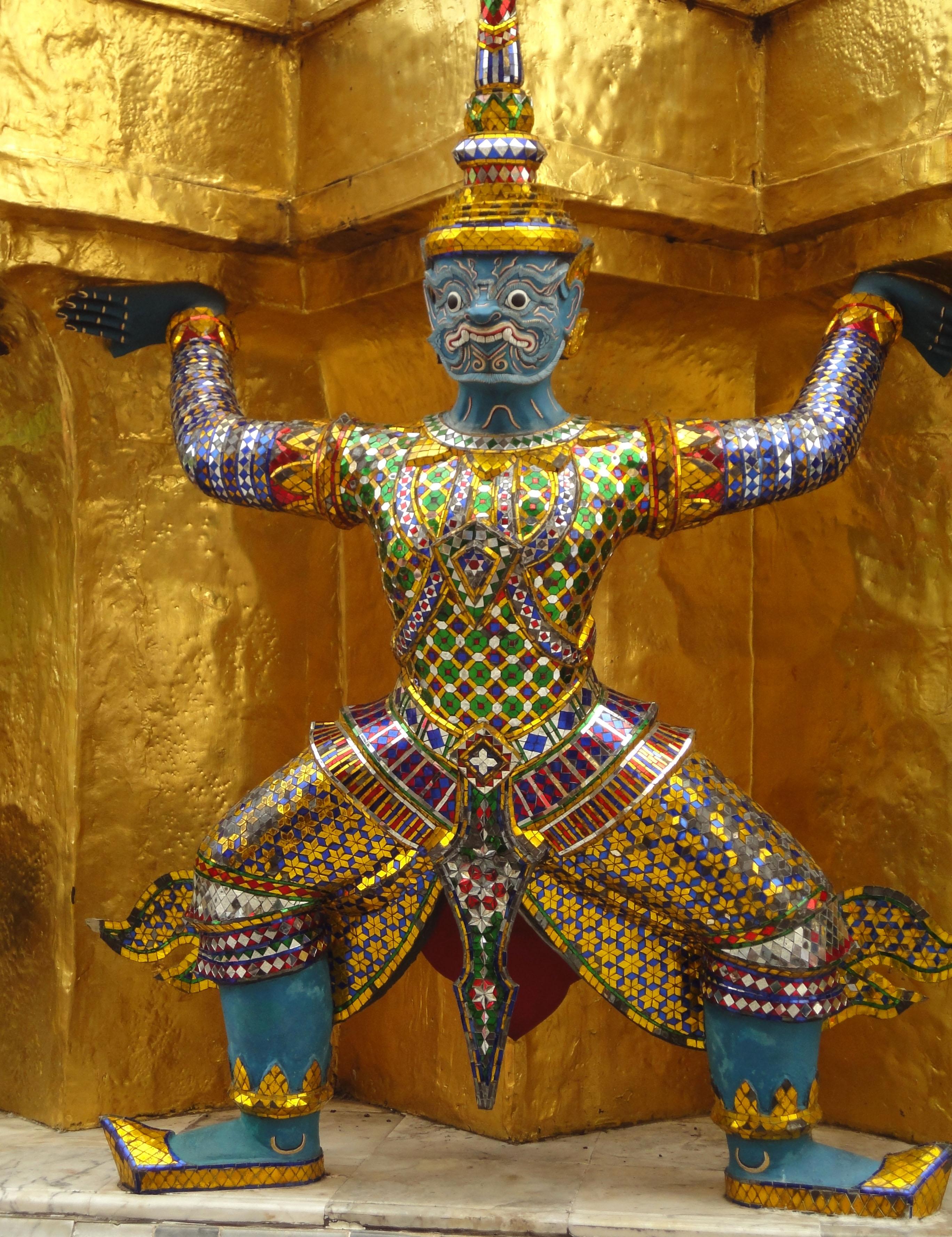 Demon guardians Bangkok Thailand 01