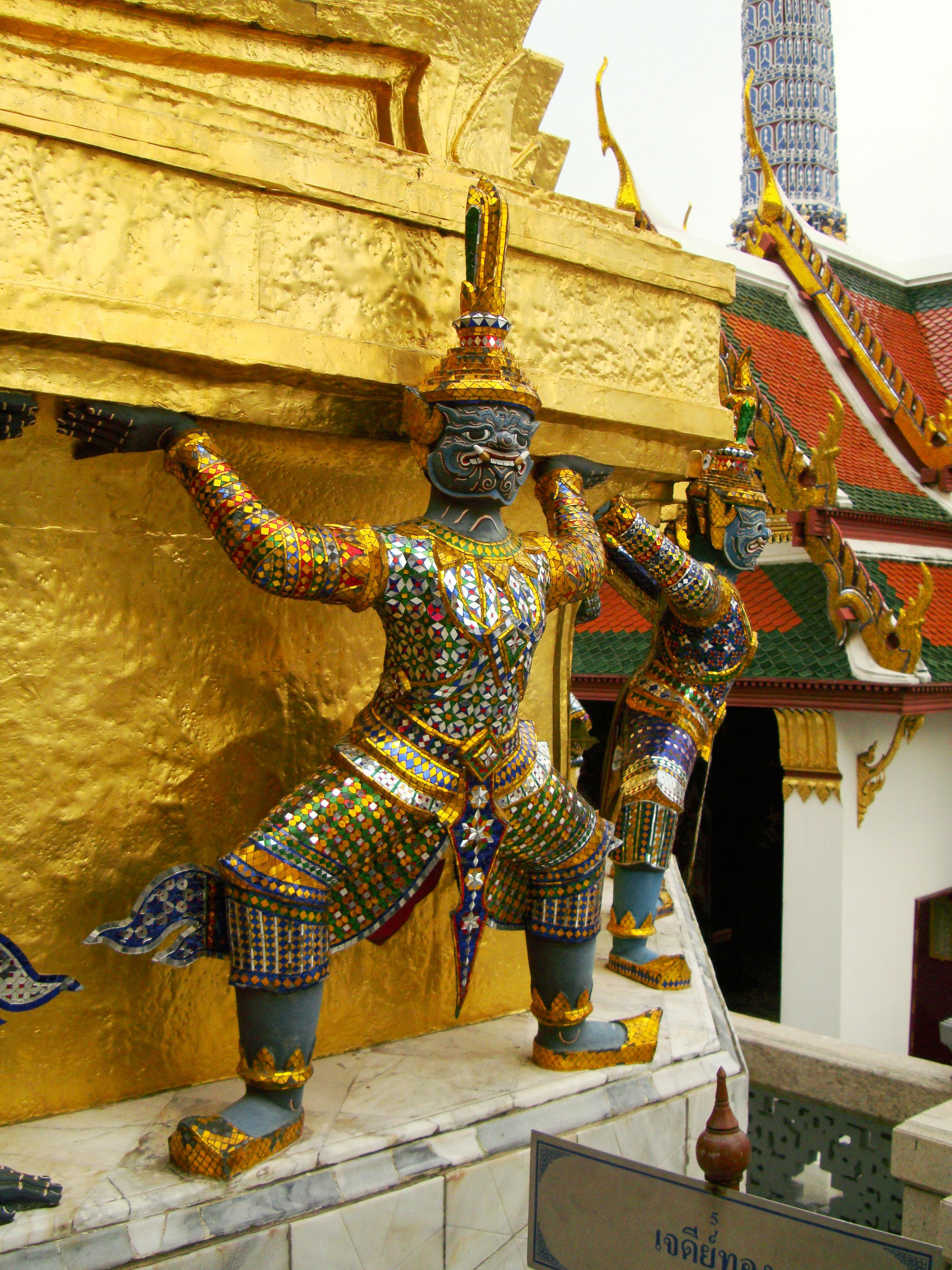 Demon guardians Bangkok Thailand 16