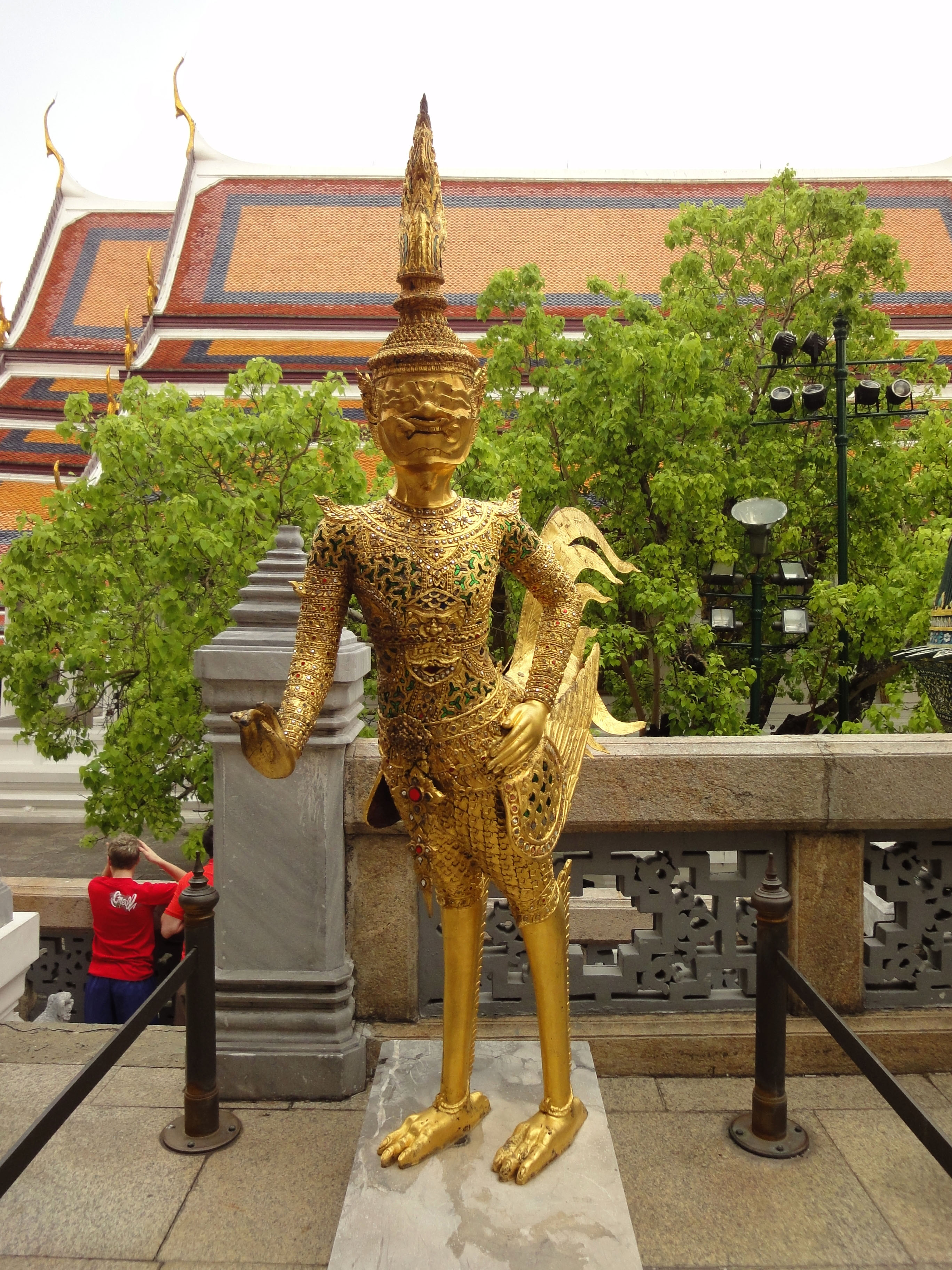Grand Palace spiritual hintha guardians Bangkok Thailand 03