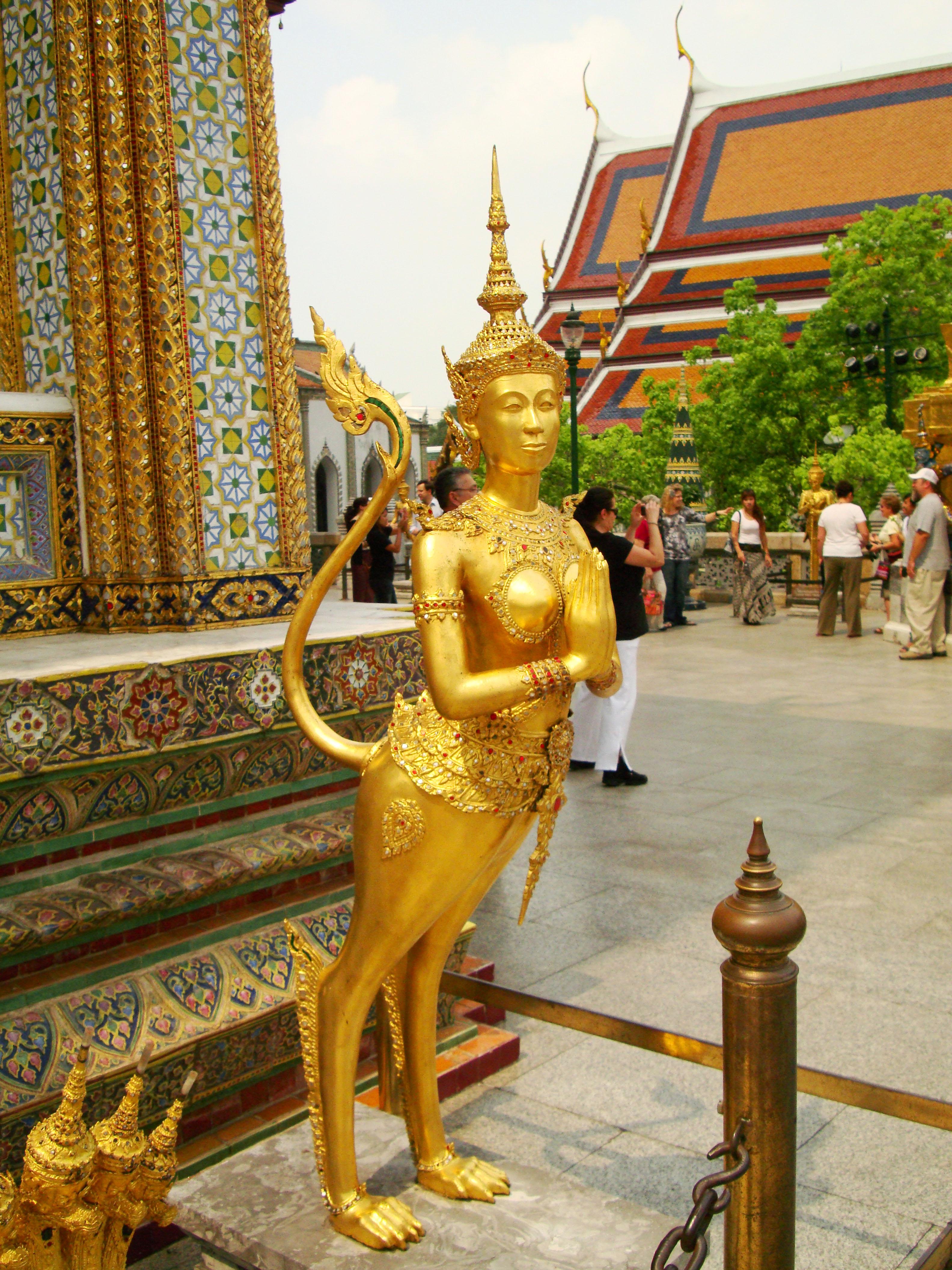 Grand Palace spiritual hintha guardians Bangkok Thailand 10